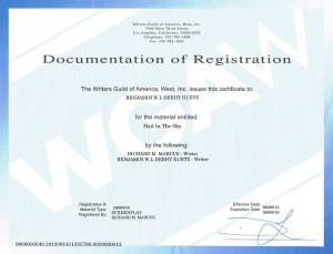 wga registration nail in the sky